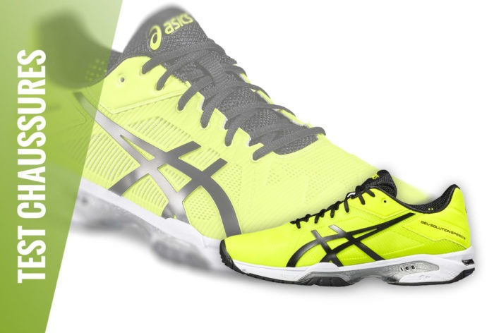 Test Chaussures Asics Solution Speed 3