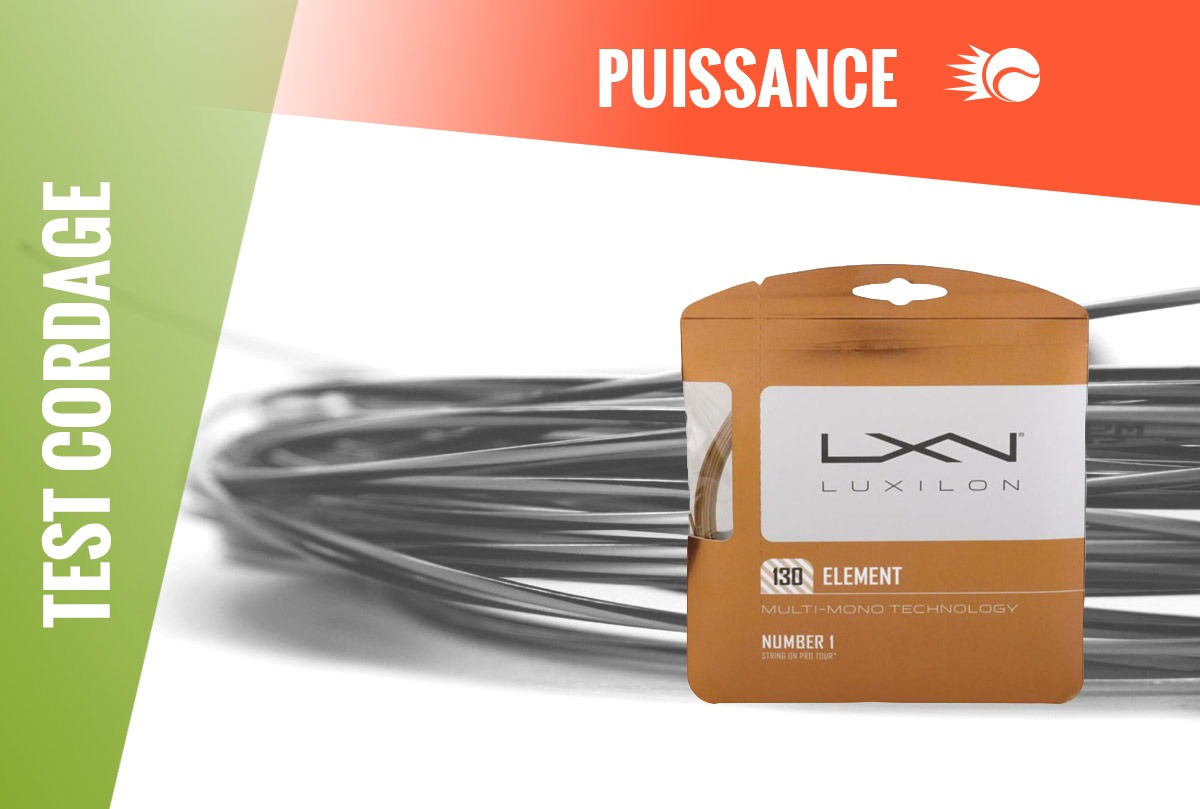 Test Cordage Luxilon Element