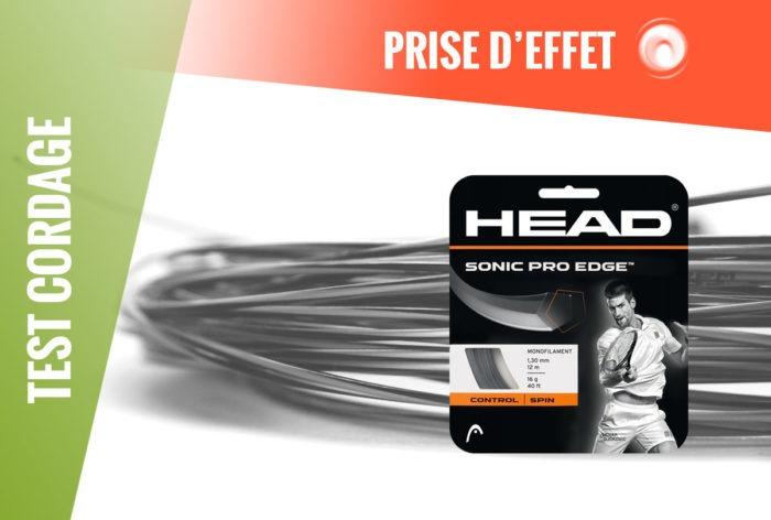 Test Cordage Head Sonic Pro Edge