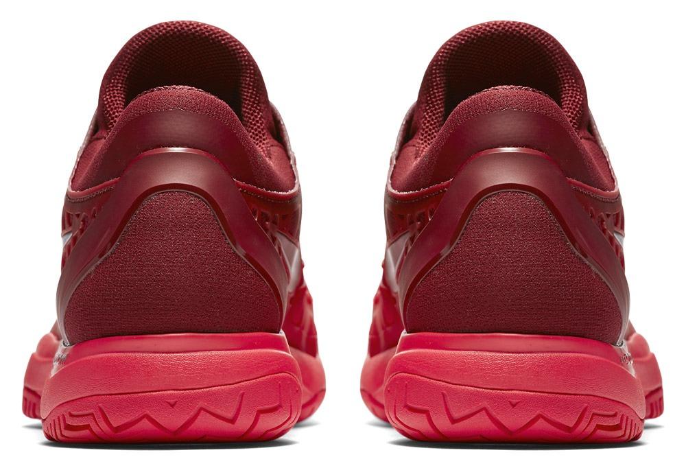 Talon de la chaussure de tennis Nike zoom cage 3