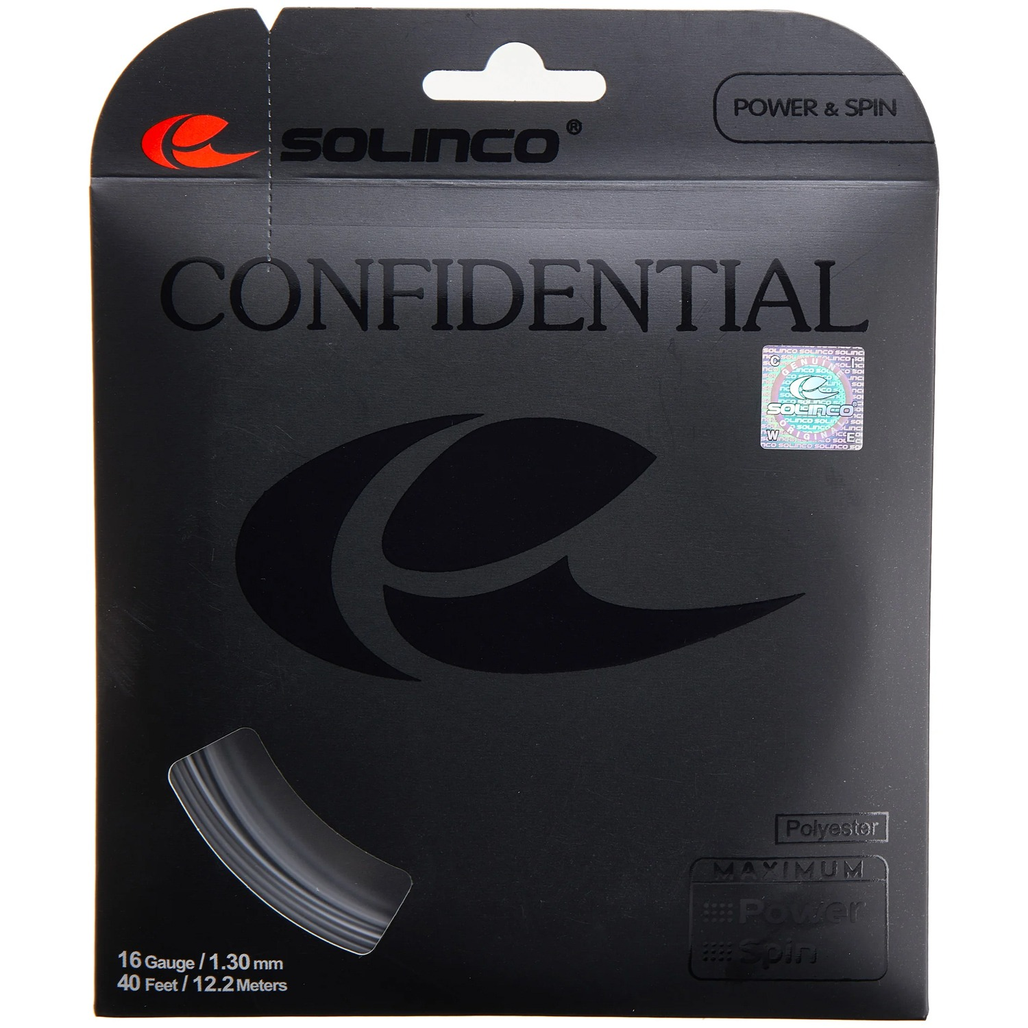 Cordage Solinco Confidential