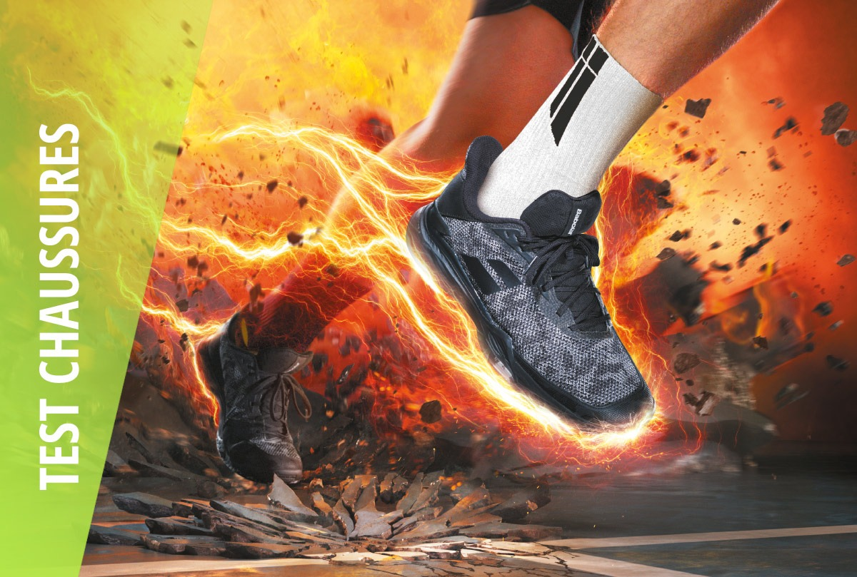 Test chaussures babolat jet tere